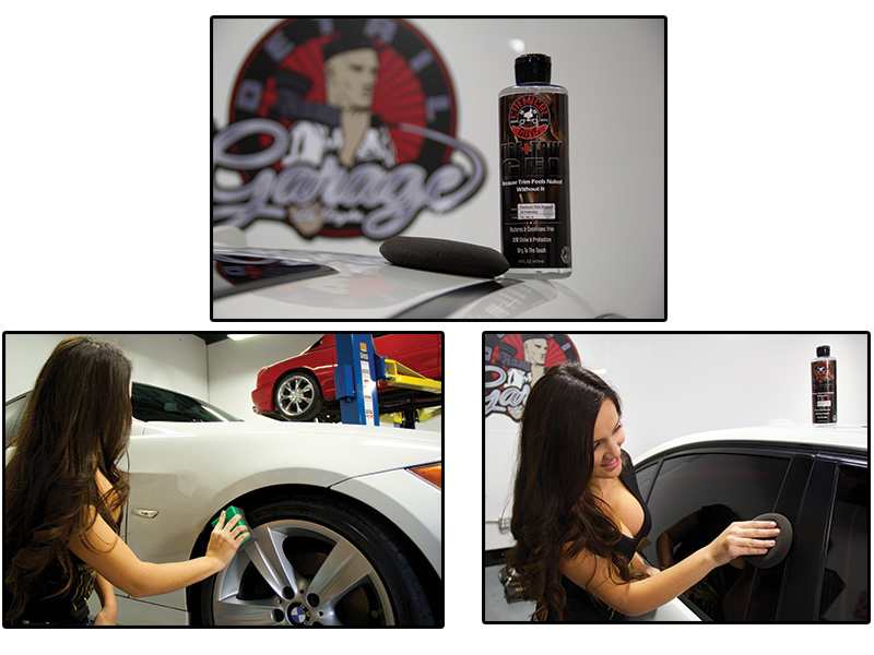 Rubber And And Trim Plastic Tire Gel