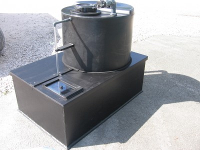 Dosing Tank Rain Skirts With Inspection Cover  Chemical Support Systems