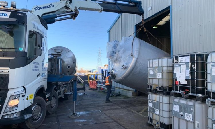 Monarch Chemicals increases capacity with new blending tank