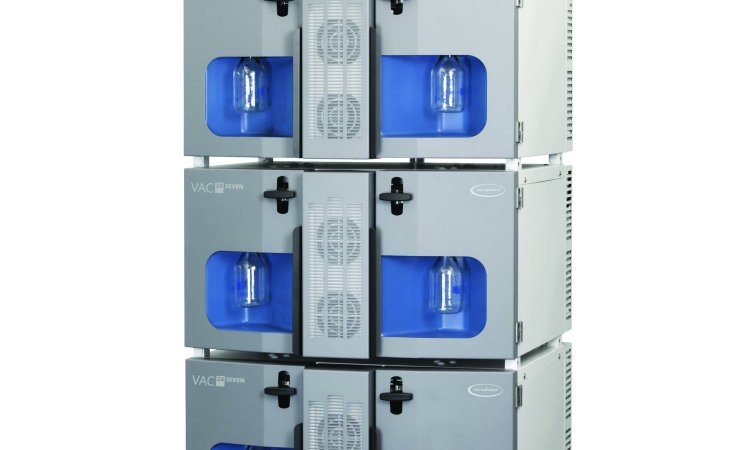 New oil-free process-scale vacuum system with energy efficient drive solutions