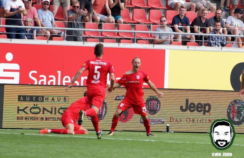 Hallescher FC – FC Hansa Rostock Bilder und Video