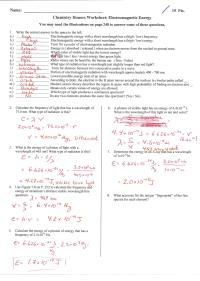Introduction To Periodic Table Worksheet Answer Key ...