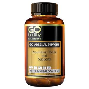 GO Healthy Go Adrenal Support 60 vegecaps