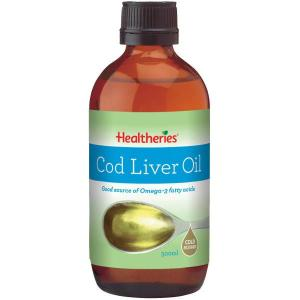 Healtheries Cod Liver Oil – Cold Filtered 500ml