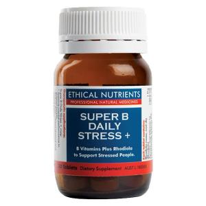 Ethical Nutrients Super B Daily Stress + 30 Tablets