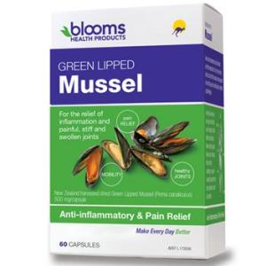 Blooms Green Lipped Mussel 500mg 60 Capsules