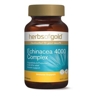 Herbs Of Gold Echinacea 4000 Complex 30 Tablets
