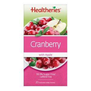 Healtheries Cranberry & Apple Tea 20 teabags
