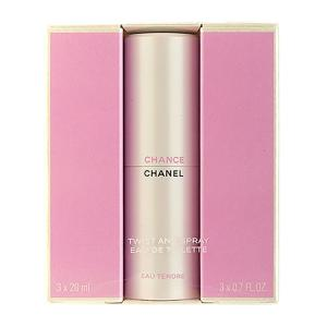 Chanel Fragrance Chance Eau Tendre Twist and Spray Eau 3 x 0.7oz, 3 x