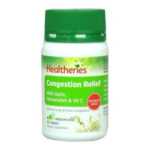 Healtheries Congestion Relief 30 tablets