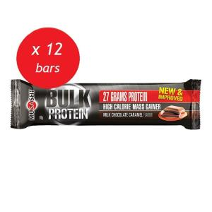 Musashi Bulk Mass Gain Bar 80g (Box of 12)