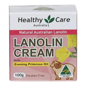 Healthy Care Lanolin Cream With Evening Primrose Oil 100g