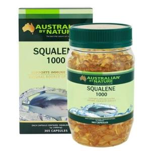Australian By Nature Squalene 1000mg 365 Capsules