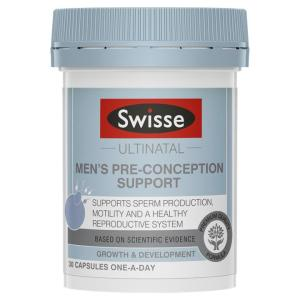 Swisse Ultinatal Men's Pre-Conception Support Cap X 30
