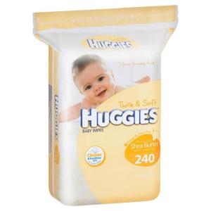 Huggies Baby Wipes Refill Lightly Fragranced X 240