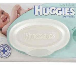 Huggies Baby Wipes Refill Fragrance Free X 80