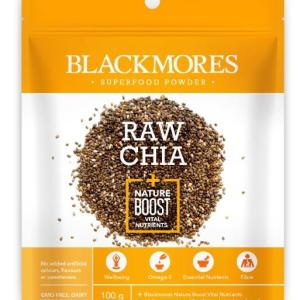 Blackmores Raw Chia + Nature Boost Vital Nutrients 100g