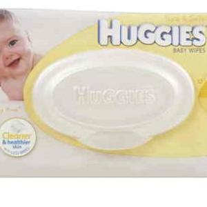 Huggies Baby Wipes Refill Lightly Fragranced With Shea Butter X 80