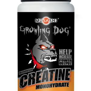 Musashi Growling Dog Micronised Creatine Monohydrate 200g