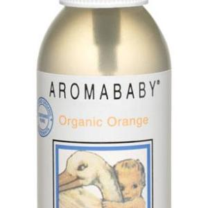 Aromababy Natural Floral Water Spray With Organic Orange 125ml