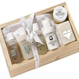 Aromababy Starter Kit Travel Size Selection In Wooden Box