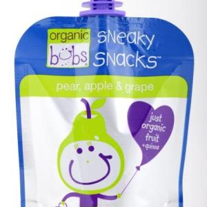 Bubs Sneaky Snacks Pear, Apple & Grape 90g