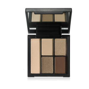 e.l.f. Contouring Clay Eyeshadow Palette Necessary Nudes 7.5g