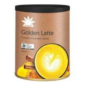 Amazonia Golden Latte Turmeric & Ayurvedic Spices 100gm
