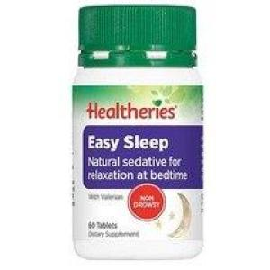 Healtheries Easy Sleep – natural sedative 60 tablets