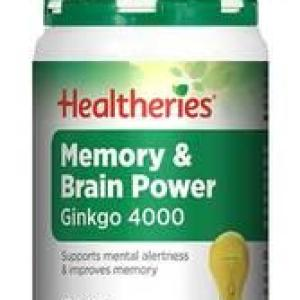 Healtheries Memory & Brain Power 30 tablets
