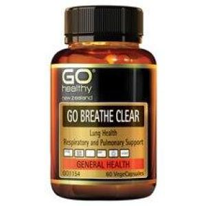 GO Healthy Go Breathe Clear 60 vegecaps