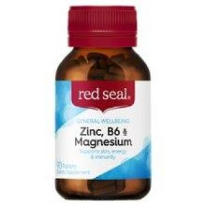 Red Seal Zinc, B6 & Magnesium 90 tablets