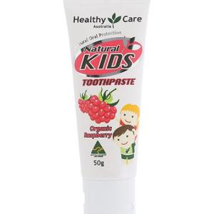 Healthy Care Natural Kids Toothpaste (Organic Raspberry) 50g