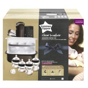 Tommee Tippee Closer to Nature Essentials Starter Set (Gen 2) – Black