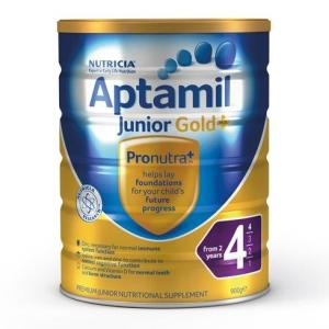 Aptamil Gold Plus 4 Junior Formula (From 2 Years) 900g – LIMIT 2 CANS PER ORDER