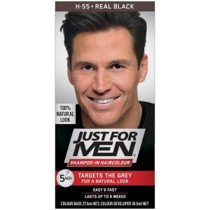 Just For Men Shampoo-In Haircolour (Real Black)