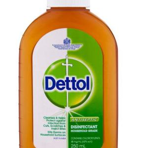 Dettol Antiseptic Disinfectant Household Grade 250ml