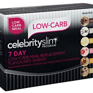 Celebrity Slim Shake 7 Day Assorted Low Carb
