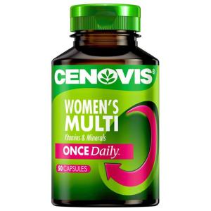 Cenovis  Women's Multi Once Daily Multivitamin Cap X 50