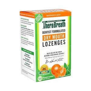 Brauer TheraBreath Dry Mouth Lozenges X 100