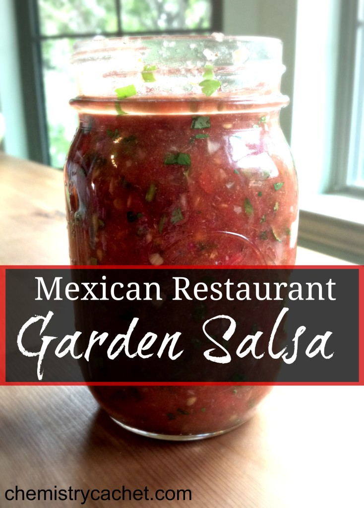 Mexican Restaurant Garden Salsa Chemistry Cachet