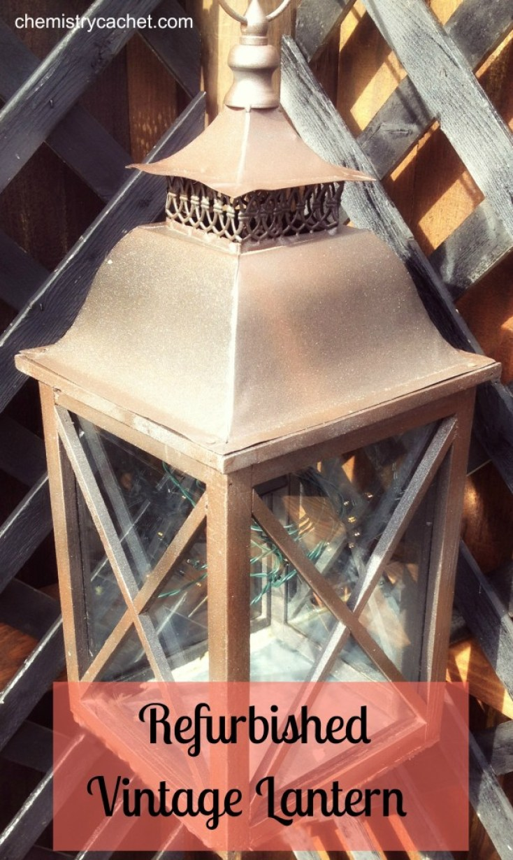 Refurbished Vintage Lantern How To