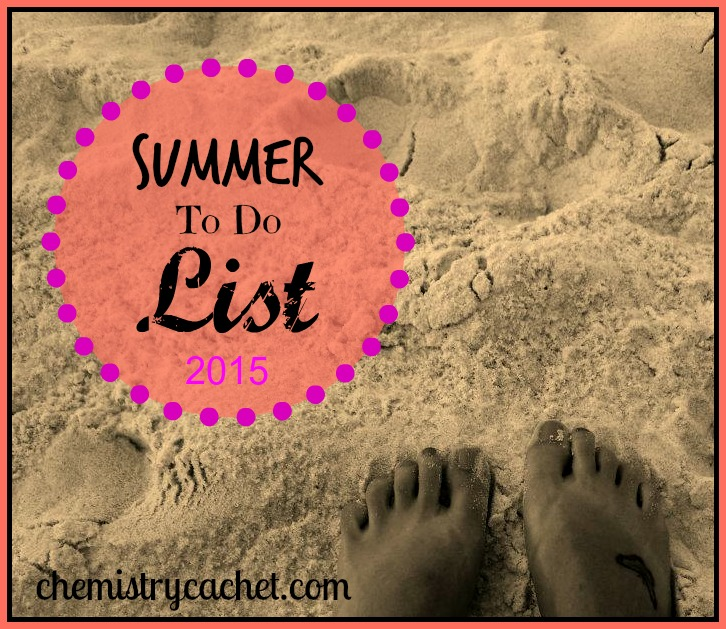 Summer to do list inspiration!