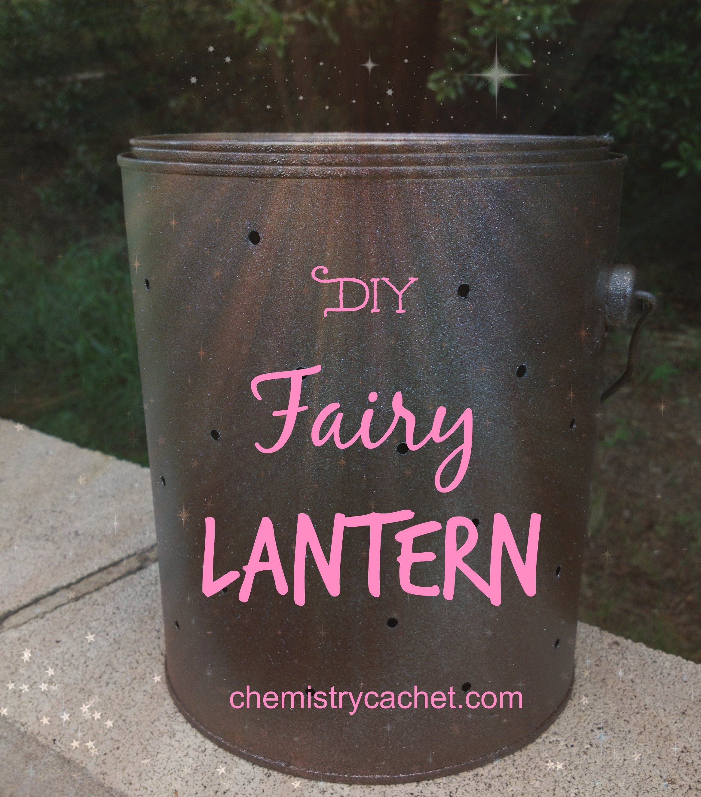 Diy fairy lantern - Can you use interior paint outdoors ...