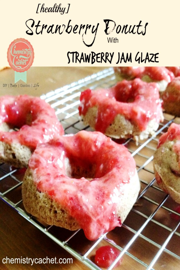 Healthy-Strawberry-Donuts-with-Strawberry-Jam-Glaze-Chemistrycachet.com_