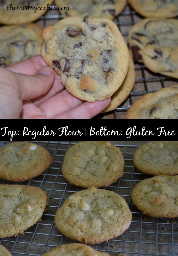 Easy gluten free baking tips. Regular flour vs gluten free...with these tips, the texture is almost identical!