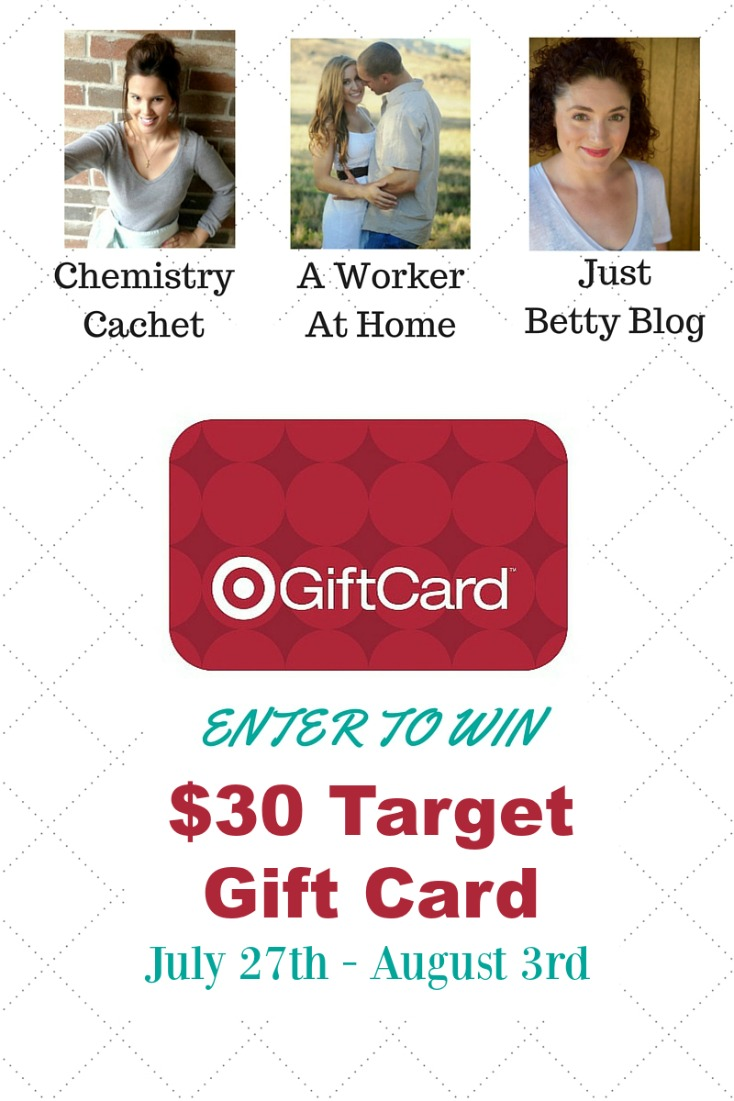 Inspiration to Enjoy the Rest of summer! Plus $30 TARGET giveaway! on chemistrycachet.com