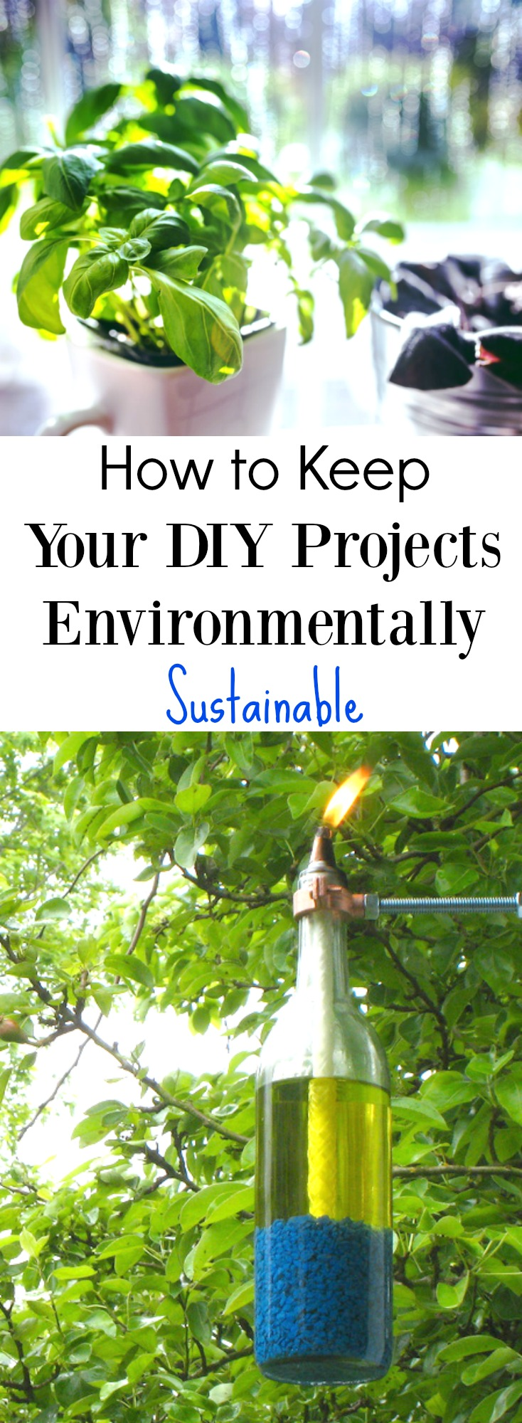How to Keep Your DIY Projects Environmentally Sustainable on chemistrycachet.com