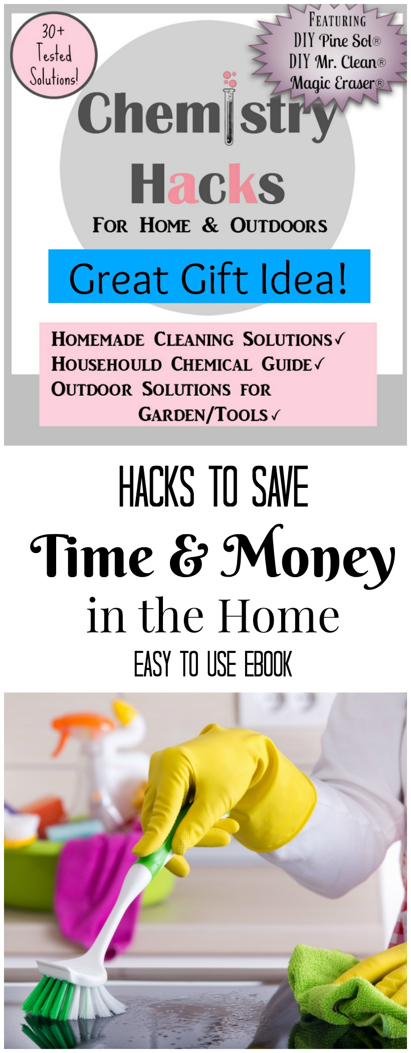 The book chemistry cachet hacks to save time and money in the home years of research and scientifically proven fandeluxe Choice Image