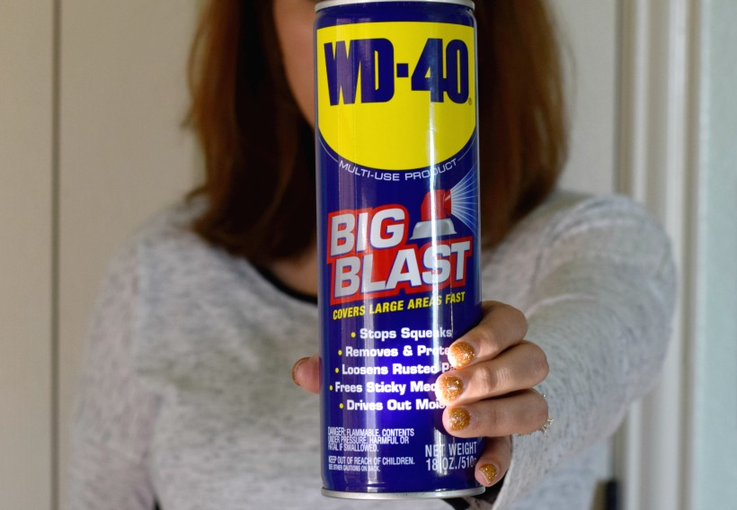 11+ Fantastic Reasons Why WD-40 ® is Good for the Home, most you may not even know about! Get these chemist tips on Wd-40 on chemistrycachet.com